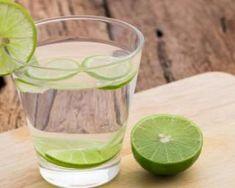 Boisson coupe-faim au thé vert et au citron vert