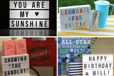 Light up your next party with this fun vintage style marquee Lightbox! This is perfect to use for weddings, parties, holiday decor, special events and every day decor! Kids love them as nightlights in their room! The letters are easily changeable so you can customize the saying as often as you like! Don't miss this great deal at pickyourplum.com!