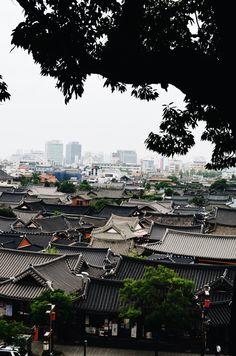 Hanok Rooftops (Jeonju, South Korea)