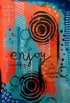acrylic by Carol Wheeler