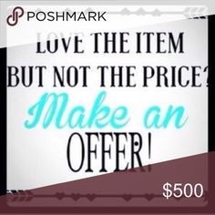 Make me some offers first day of spring specials!! Make me offer Accessories