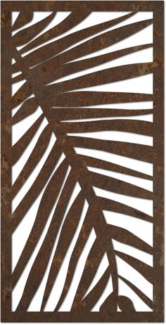 Designs – DecoPanel Designs, Australia Make a ceramic slab platter and underglaze the leaf pattern Laser Cut Panels, Laser Cut Metal, Laser Cutting, Stencils, Stencil Art, Metal Art, Wood Art, Decorative Screen Panels, Sgraffito