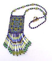 """- Схемы для бисероплетения / Free bead patterns -: Схема кулона """"Волшебный Лес"""" - станочное ткачество / гобеленовое плетение"""