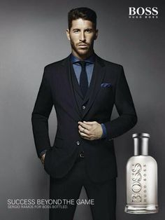 Sergio Ramos for Hugo Boss Fragances...