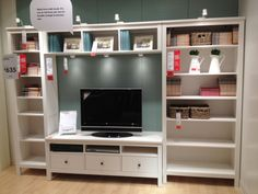 IKEA Hemnes TV unit & shelves - 500-700 EUR