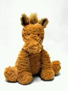 Jellycat Stuffed Plush Beanie Brown Horse Pony 9in in Toys & Hobbies, Stuffed Animals, Jellycat   eBay