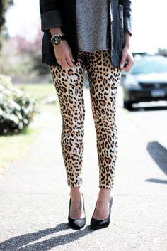 Leopard Leggings - www.jillianharris.com