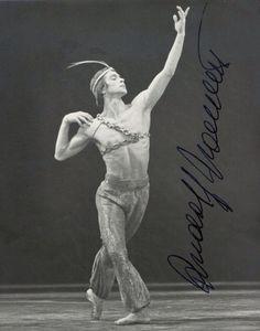 Rudolph Nureyev.