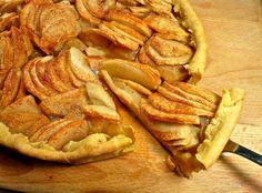μηλόπιτα ανοιχτή