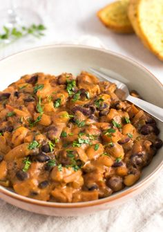 Eiweißreiche Rezepte: Bohnen-Stew