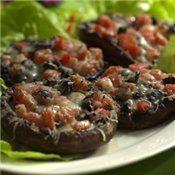 Tomato-&-Olive-Stuffed Portobello Caps Recipe at Cooking.com