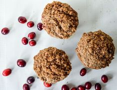 Cranberry Coffee Cake Muffins | This Runner's Recipes