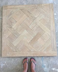 We just got our custom parquet sample board for approval from #sdflooring and I…