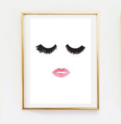 Makeup Print, Wall Decor, Home Decor, Wall Art, Minimalist Poster, Fashion Print, Glamour, Beauty Print, Makeup Poster, Wall Art Print. by LovelyPosters on Etsy https://www.etsy.com/listing/245235226/makeup-print-wall-decor-home-decor-wall