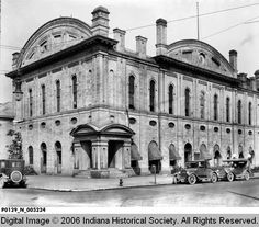 Terre Haute City Hall - (The building was at the corner of 4th and Walnut streets?)