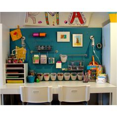 For graces art stuff. Pic found on houzz.com