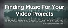 Guide To Finding Music For Your Videos: 15 Great Music Websites -Watch Free Latest Movies Online on Find Music, Music For You, Free Music Websites, You Videos, Music Videos, Film Tips, Digital Storytelling, Film Inspiration, Film School