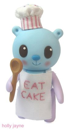 Baker Bear by hollyjayne, via Flickr