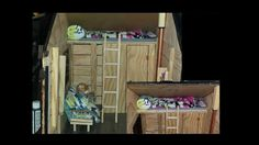 How to make a Doll Loft Bed and Ladder