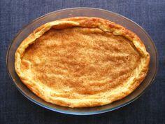 crustless milk tart (s cimetom)