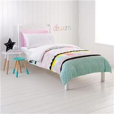 Single Bed Quilt Cover Set - Zarah Design