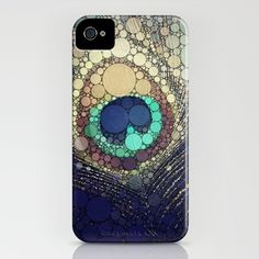 Peacock Feather iPhone Case ($35) @Sarah Chintomby Chintomby Joseph you need this in your life!