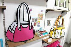 Real Cartoon Handbags