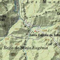 Wikiloc - ruta El salt del Bisbe - Sant Jaume de Frontanyà, Catalunya (España)- GPS track