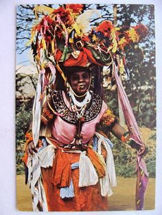 nigerianostalgia:  Ekombi dancers of Calabar. 1965Vintage Nigeria
