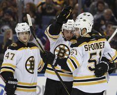 Boston Bruins  Torey Krug (47) Matt Beleskey (39) and Ryan Spooner 7c2dd0e9f