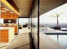 Case study house n°22 - Stahl house - Los Angeles - 1960 - Pierre Koenig