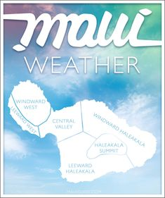 Weather conditions on Maui, Hawaii by Month and Region. Hawaii Vacation Tips, Vacation Trips, Vacations, Us Travel Destinations, Amazing Destinations, Island Beach, Big Island, Maui Travel, Travel Tips