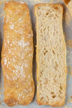 This crystal bread is a Spanish style ciabatta bread. So if you love ciabatta then you should really try this! It's super easy to make and very satisfying. High Protein Flour, Style Tropical, Small Coffee Shop, Types Of Bread, Instant Yeast, Baking Flour, Artisan Bread, Spanish Style, Us Foods