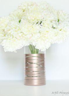 28 great rose gold vase images flower arrangements wedding rh pinterest com