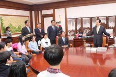 신안군 섬마을 초등학생 19명, 국회의장 표창 받아