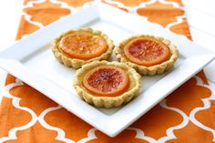 Fresh Orange & Thyme Tartlets (gluten-free)