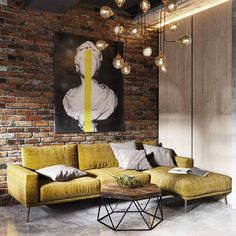 Chandelier is simple,it is like from the last century, rustic but fits perfectly into this space. Table is in a similar mood – combination of iron also, but now with wood.