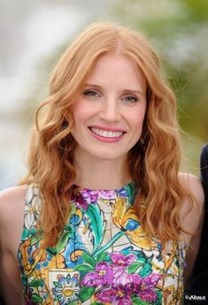 Jessica Chastain Hair Color I LOVE!! this color