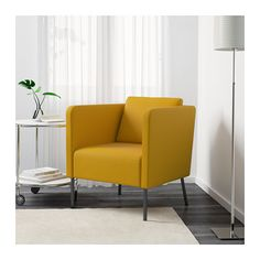 EKERÖ Chair - Skiftebo yellow - IKEA