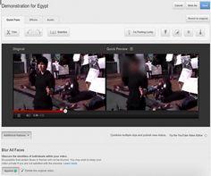 Πώς να θολώσετε τα πρόσωπα στα βίντεο που ανεβάζετε στο ΥοuTube  Το YouTube διέθεσε ένα εργαλείο για να προστατεύουν οι εγγεγραμμένοι χρήστες του την δική τους ανωνυμία αλλά και όσων καταγράφουν στα βίντεο που ανεβάζουν.