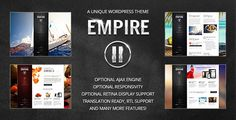 Empire II - WordPress Theme by ThemePrince   Version 2.2.4 ¨C March 28, 2017 * Update: pageSetup() now fires after window.load in ajax.js* Update: tpBgSlider() function add