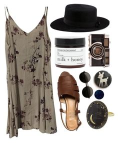 """Untitled #39"" by livingvenus ❤ liked on Polyvore featuring Brandy Melville, Andrea Fohrman, CA4LA and Milk + Honey"