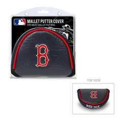 Boston Red Sox MLB Mallet Putter Cover