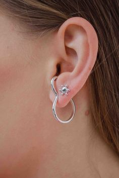 We're all ears for the LOVEGAME earrings; a great addition to an ear stack or perfect worn solo. But hurry, once these beauties are gone, they are gone forever... Moon Child, Ears, Beauty, Collection, Jewelry, Ear Piercings, Yellow, Silver, Jewlery