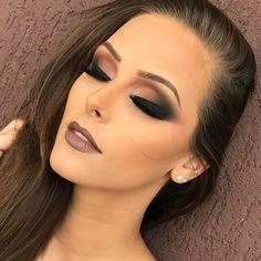 Glam Makeup, Casual Makeup, Sexy Makeup, Love Makeup, Makeup Inspo, Eyeshadow Makeup, Makeup Inspiration, Beauty Makeup, Makeup Looks