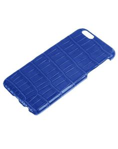 iPhone 6S/6 Case Alligator Blue