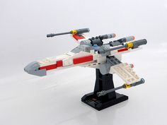 Lego X-Wing mini-scale | Riskjockey | Flickr