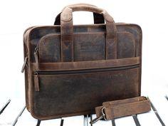 c37ef4598b Men s Citylander Leather Briefcase at Scaramanga