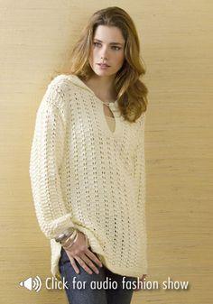 Crochet sweater patterns on Pinterest Drops Design ...