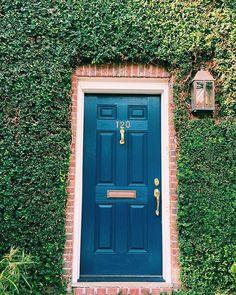 Farrow And Ball Pavilion Grey Front Door.Farrow And Ball Lamp Room Gray Front Door Victorian . Grey Front Doors, Painted Front Doors, Front Door Paint Colors, Front Door Design, Star Lights On Ceiling, Pavilion Grey, Hague Blue, Yellow Doors, House Front Door